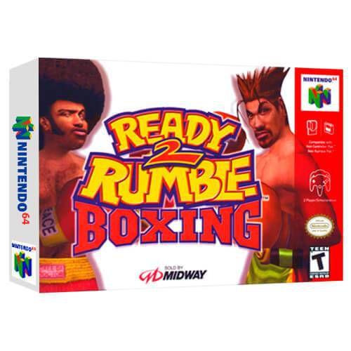 Ready Rumble 2 Boxing Seminovo - Nintendo 64 - N64
