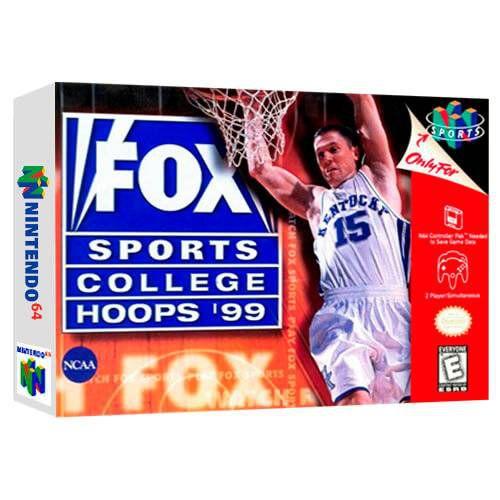 Fox Sports College Hoops 99 Semi-Novo - Nintendo 64 - N64