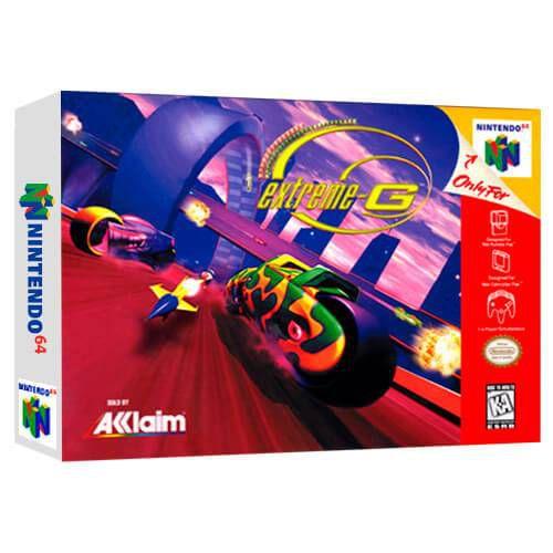 Extreme-G Seminovo - Nintendo 64 - N64