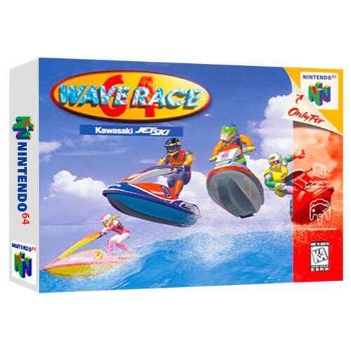 Wave Race 64 Seminovo - Nintendo 64 - N64