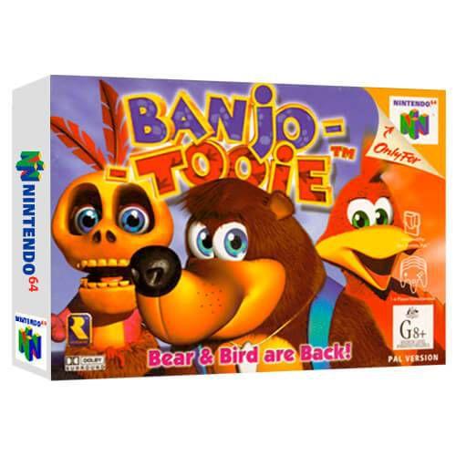 Banjo-Tooie Seminovo - Nintendo 64 - N64