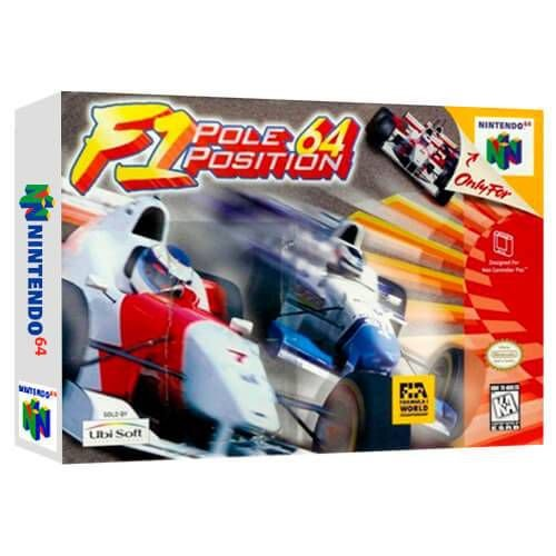 F1 Pole Position 64 Seminovo - Nintendo 64 - N64
