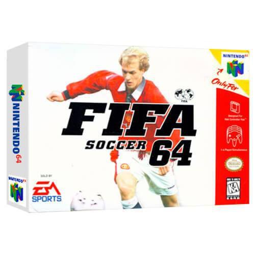 Fifa Soccer 64 Seminovo - Nintendo 64 - N64