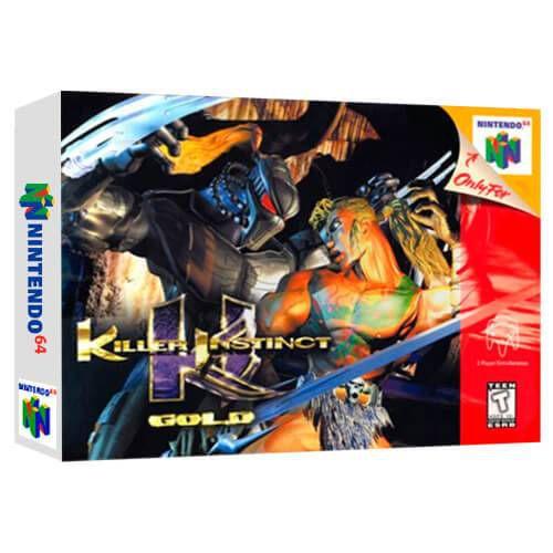 Killer Instinct Gold Seminovo - Nintendo 64 - N64