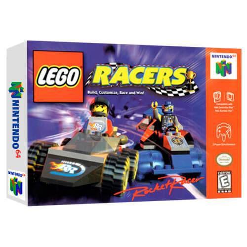 Lego Racers Seminovo - Nintendo 64 - N64