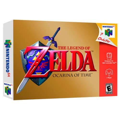 The Legend Of Zelda Ocarina Of Time Seminovo - Nintendo 64 - N64
