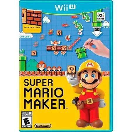 Super Mario Maker Seminovo - WII U
