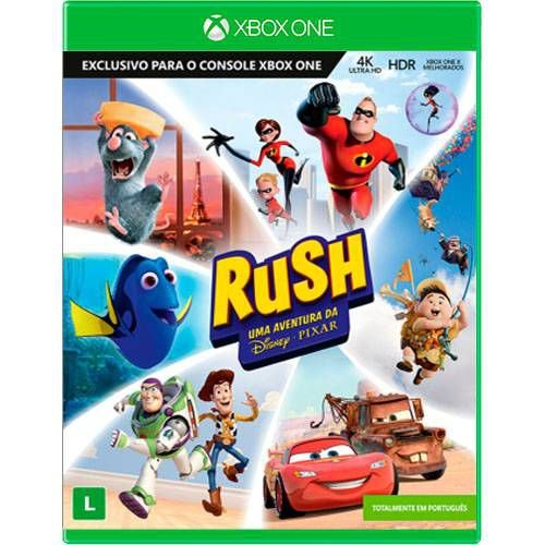 Rush Uma Aventura Da Disney Pixar Seminovo - Xbox One