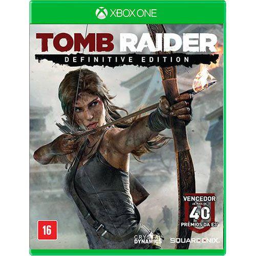 Tomb Raider Edição Definitive Seminovo - Xbox One