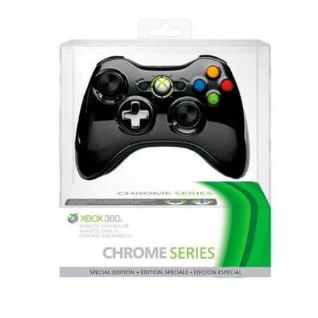 Controle Sem Fio Original Chrome Series Microsoft - Xbox 360