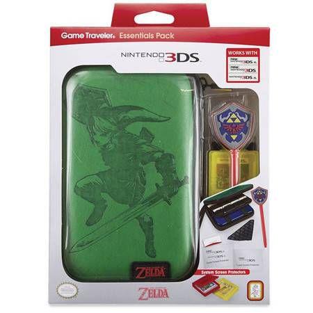 Case Traveler Essentials Pack The Legend of Zelda - Nintendo 3DS