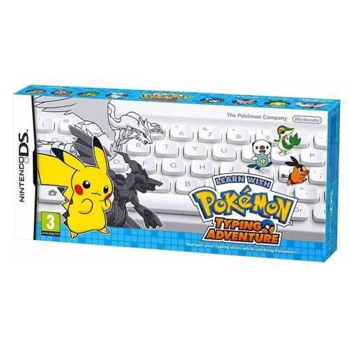 Teclado Aprende Com Pokémon Aventura Entre Teclas Nintendo - DS