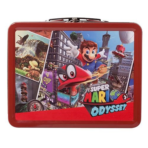 Maleta Lunchbox Power A Super Mario Odyssey - Nintendo Switch