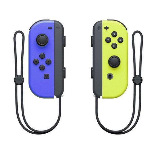 Controle Joy Con Nintendo Switch Amarelo e Azul