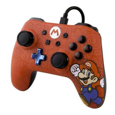 Controle Power A Super Mario - Nintendo Switch