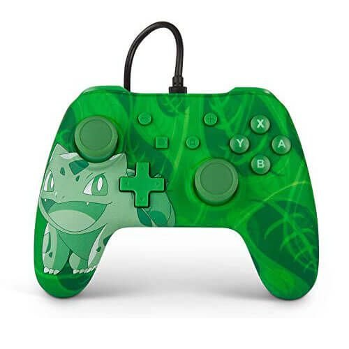 Controle Power A Wired Bulbasaur - Nintendo Switch
