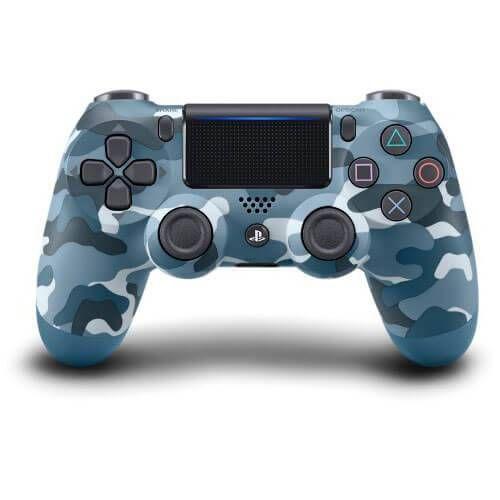 Controle Sem Fio - Dualshock 4 Camuflado Azul (Blue Camuflage) - PS4