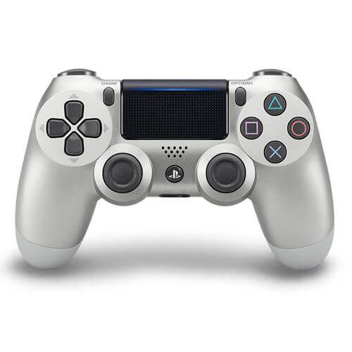 Controle sem Fio – Dualshock 4 Prata (Silver) – PS4