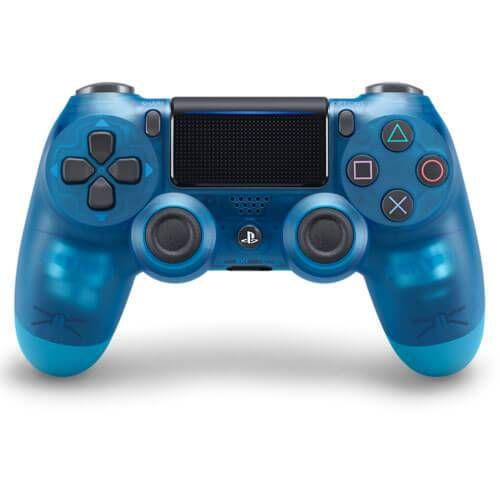 Controle Sem Fio – Dualshock 4 Transparente Azul (Crystal ) – PS4
