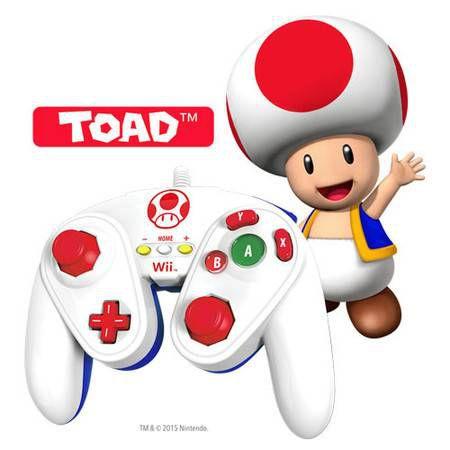 Controle Toad Game Cube – Wii U