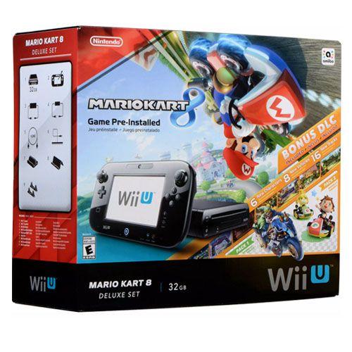 Console Nintendo Wii U32 gb Bundle Mario Kart 8 – Seminovo