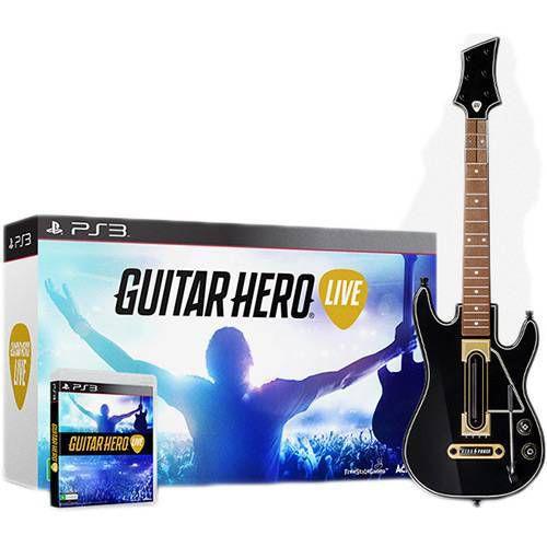 Guitar Hero Live Bundle – PS3