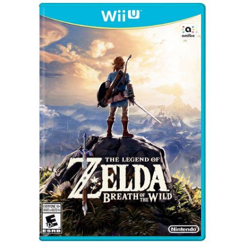The Legend Of Zelda Breath of the Wild Seminovo - Wii U