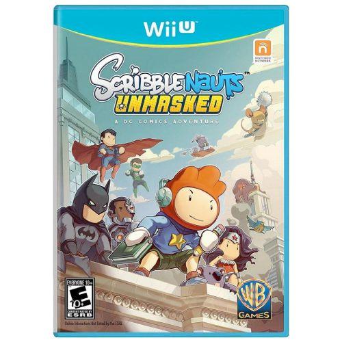 Scribblenauts Unmasked A DC Comics Adventure Seminovo - Wii U