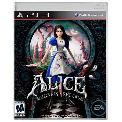 Alice Madness Returns Seminovo - PS3