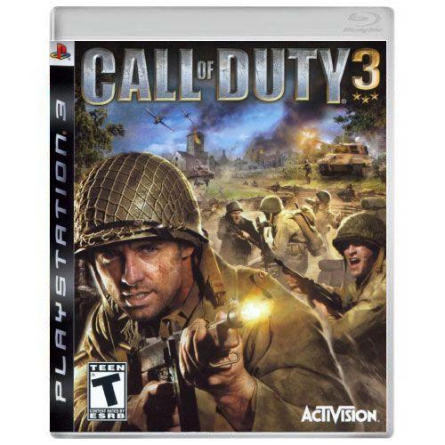 Call Of Duty 3 Seminovo - PS3