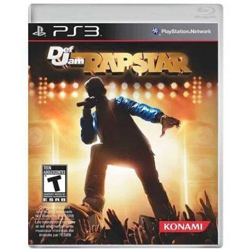 Def Jam Rapstar Seminovo - PS3