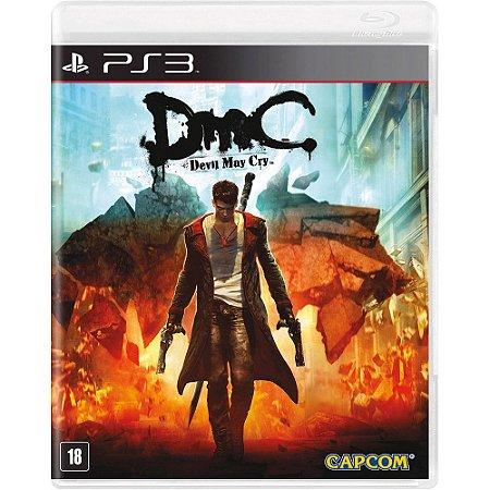 DmC Devil May Cry Seminovo - PS3
