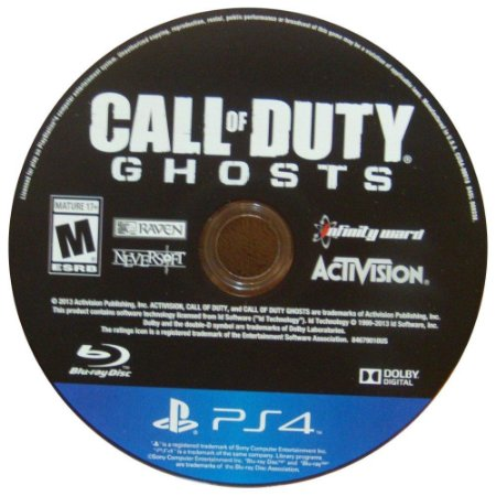 Call Of Duty Ghosts Seminovo (SEM CAPA) - PS4
