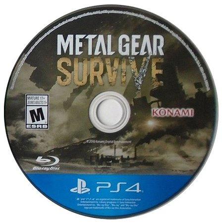Metal Gear Survive Seminovo (SEM CAPA) - PS4