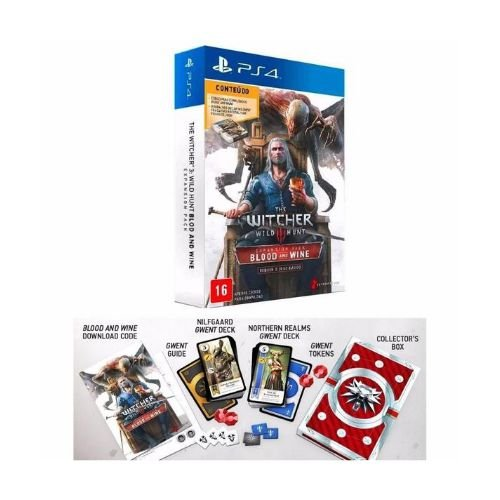 The Witcher 3 Expansion Pack / Seminovo (Voucher Inativo) Com Baralho Gwent
