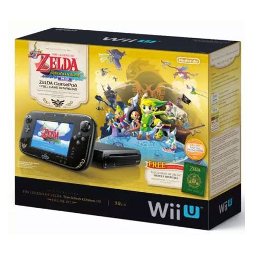 Console Nintendo WiiU: The Legend of Zelda The Wind Waker Deluxe Set - Seminovo