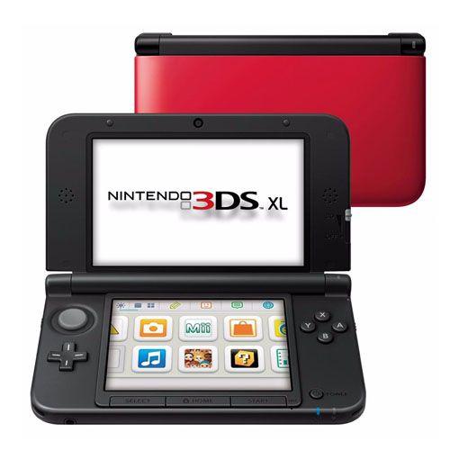 Console Nintendo 3DS XL Seminovo – Vermelho