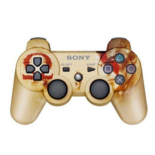 Controle Dualshock 3 Edição God of War Original Seminovo - Ps3