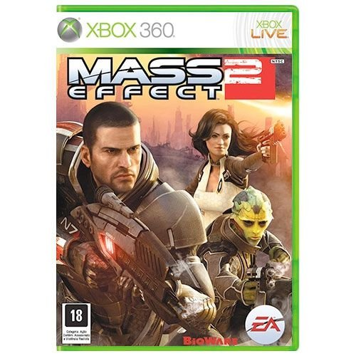 Mass Effect 2 Seminovo - Xbox 360