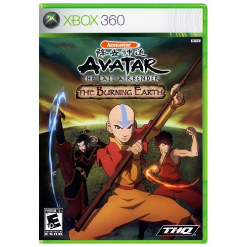 Avatar: The Last Airbender - The Burning Earth Seminovo - Xbox 360
