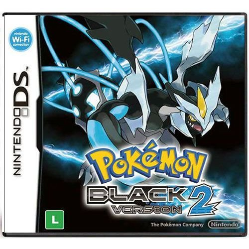 Pokémon Black Version 2 Seminovo - DS