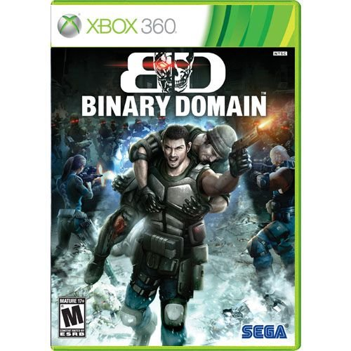 Binary Domain Seminovo - Xbox 360