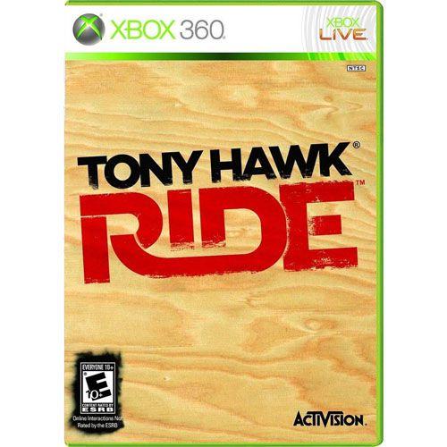 Tony Hawk Ride Seminovo - Xbox 360