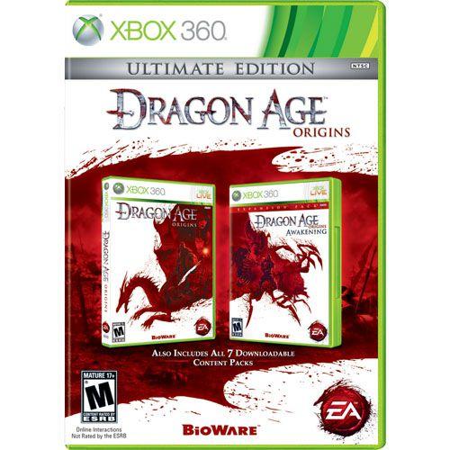 Dragon Age Origins (Ultimate Edition) Seminovo - Xbox 360