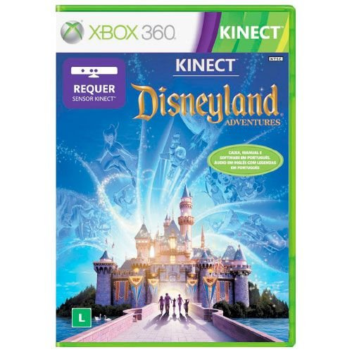 Kinect Disneyland Adventure Seminovo - Xbox 360