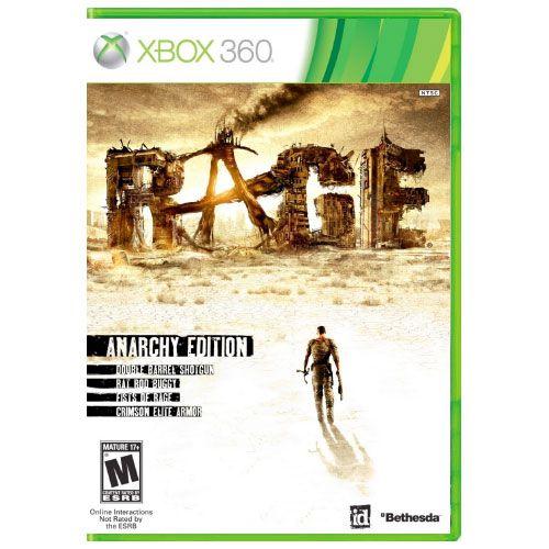 Rage Anarchy Edition Seminovo – Xbox 360