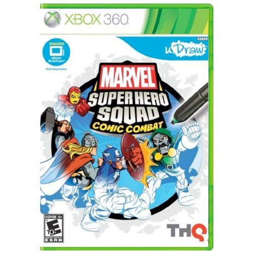 Marvel Super Hero Squad Comic Combat Seminovo - Xbox 360