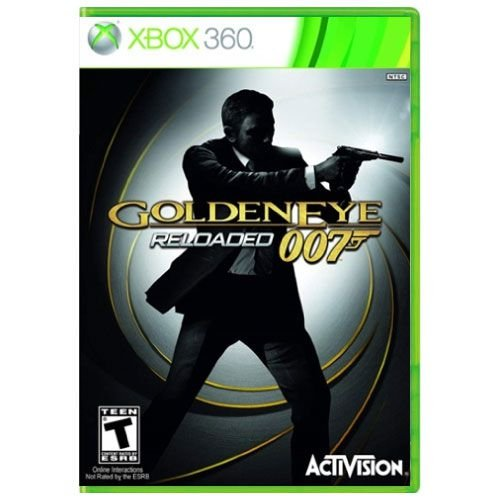 007 Goldeneye Reloaded Seminovo - Xbox 360