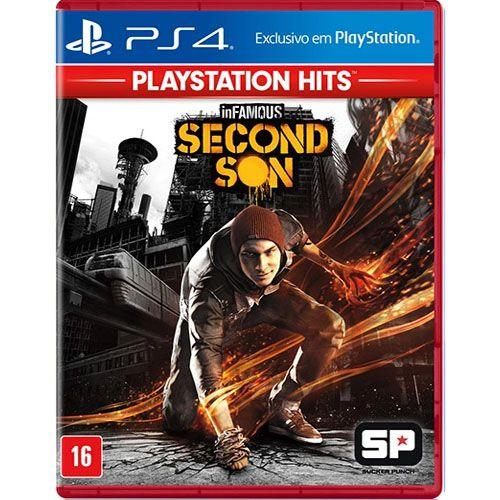 Infamous Second Son Seminovo (áudio em inglës) - PS4