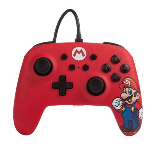 Controle Power A Enhanced Wireless Super Mario - Nintendo Switch